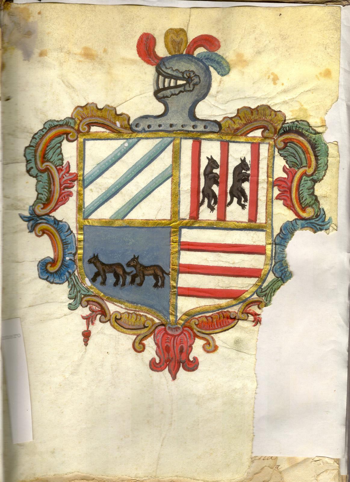 Escudo de Iturbide, Arregui, Alvarez de Eulate y Gastelu